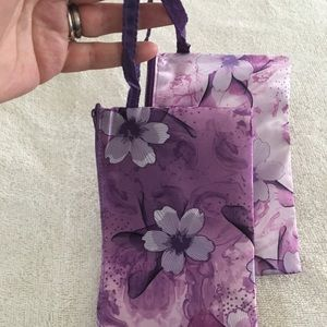Bags - Set of 2 Matching NWOT Wristlets/Accessory Pouches